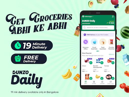 Dunzo: Delivery App for Grocery, Vegetables & More apktram screenshots 1