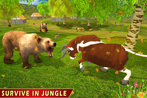 Wild Bull Family Survival Sim apkpoly screenshots 9