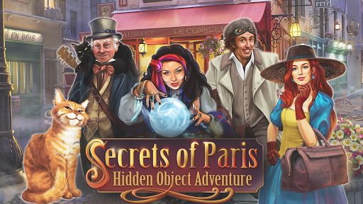 Secrets of Paris: Hidden Objects Game apkpoly screenshots 8