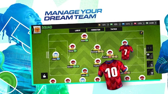 Download Top Eleven 2021 Be a Soccer Manager 11.1.1 Mod Latest Apk 3