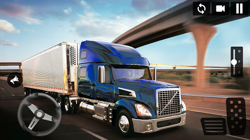 American Truck Driving Simulator: Cargo Truck Game  screenshots 7