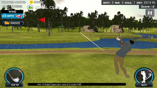 Real Star Golf Master 3D apkpoly screenshots 2