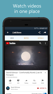 LinkStore: Save Links, Read and Watch Screenshot