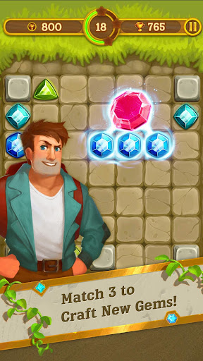 gemcrafter: puzzle journey screenshot 1