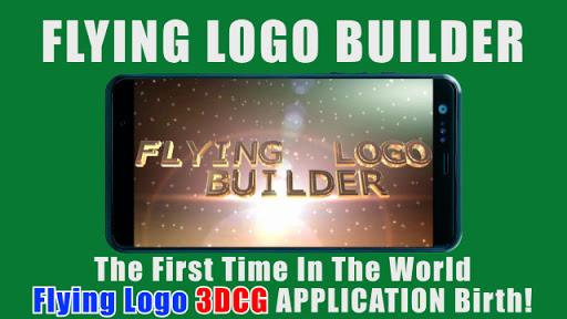 FLYING LOGO BUILDER - 3d Intro Movie Maker  Paidproapk.com 1