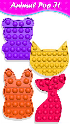 pop it Fidget Cubes calming sounds making toys 1.0.9 screenshots 4