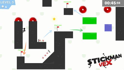 Stickman Impaled:Stick Parkour Platformer  screenshots 8