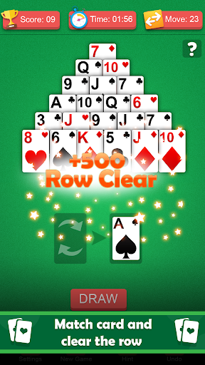 Pyramid solitaire games for free - solitaire 13 1.0 screenshots 1