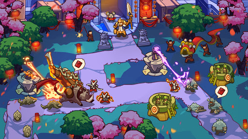 Empire Defender TD: Tower Defense The Fantasy War Varies with device screenshots 1