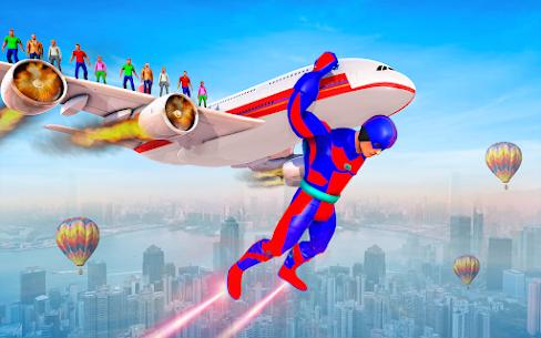Firefighter Superhero Robot Rescue Mission APK + MOD Download 2