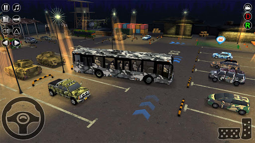 Army Bus Transporter Simulator 2020  screenshots 3