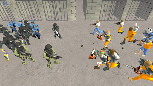 Battle Simulator: Prison & Police apktram screenshots 6