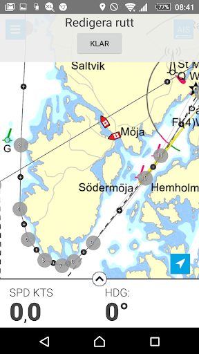 Eniro På sjön - Gratis sjökort  screenshots 6
