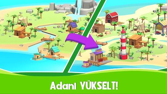 Idle Island Tycoon  Hayatta kalma oyunları Apk İndir 4
