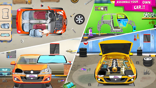 Modern Car Mechanic Offline Games 2020: Car Games apkslow screenshots 13