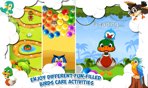 Jungle Adventure Game for Kids – SuperHero Birds Game APP 3