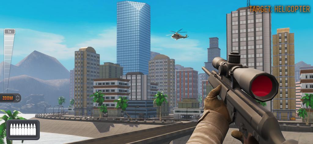 Sniper 3D: Fun Free Online FPS Shooting Game poster 4