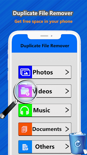 Duplicate file remover & all Media cleaner 1.2 screenshots 1