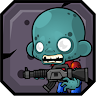 Zombie Feeder: The Cool 2D Adventure game apk icon