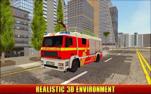Firefighter Simulator 2018: Real Firefighting Game apkmr screenshots 5