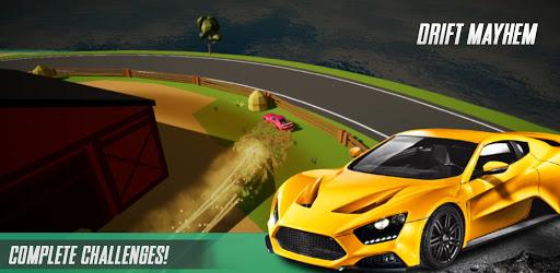DRIFT MAYHEM u2013 Top Down Car Rally Race Online  screenshots 4