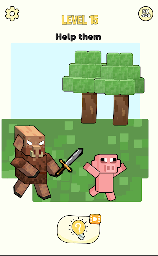 Stickman Craft - Brain Puzzle Games  screenshots 4