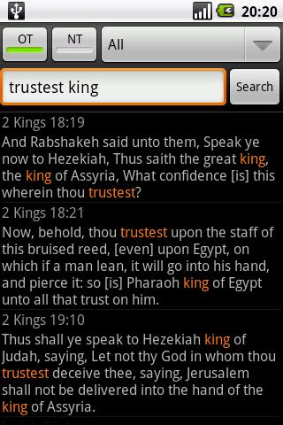 Holy Bible (KJV) 1.5 Screenshots 7