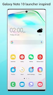 Perfect Note10 Launcher for Galaxy Note,Galaxy S A 4.1 APK + MOD (Unlocked) 1