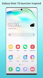 Perfect Note10 Launcher for Galaxy Note,Galaxy S A Screenshot
