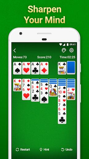Solitaire Klondike: card games Apkfinish screenshots 1