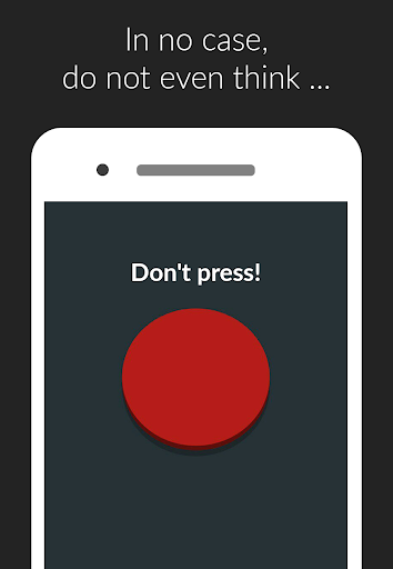 Red button: do not disturb, clicker games, not not  screenshots 1