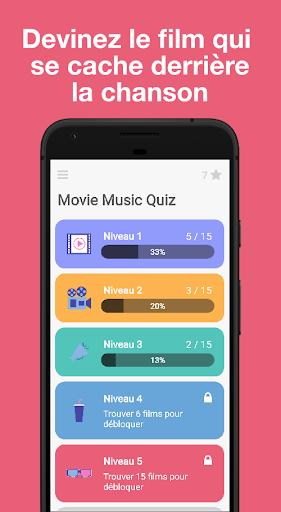 Télécharger Gratuit Movie Music Quiz - Blindtest Musiques de Films  APK MOD (Astuce) screenshots 1
