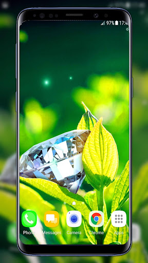 diamonds live wallpaper screenshot 2