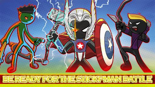 Hero stick war - stickman fight battle 2021  screenshots 1
