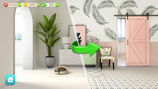 Dream Home: Design & Makeover android2mod screenshots 1