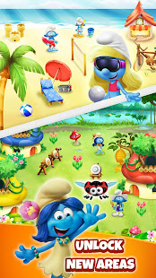 Smurfs Bubble Shooter Story 3.04.070002 screenshots 4