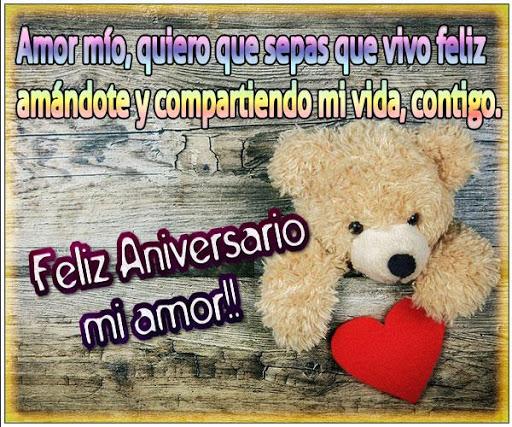 Frases de Feliz Aniversario Amor  screenshots 3