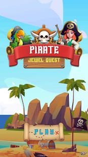Pirate Jewel Quest - Match 3 Puzzle