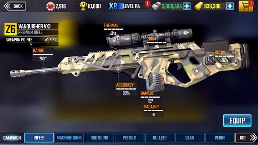 Code Triche Sniper Strike – FPS 3D Shooting Game APK MOD (Astuce) screenshots 1