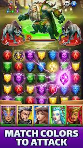 Empires & Puzzles: Epic Match 3 Mod APK 40.0.0 (High Damage+Unlimited Coins) 1