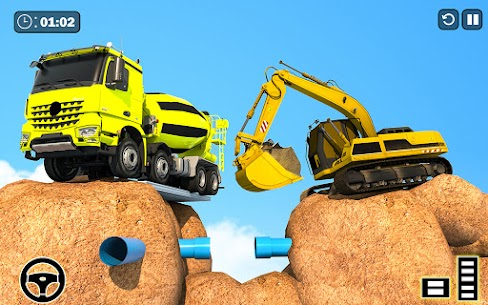 Grand Snow Excavator Simulator: Road Construction 1
