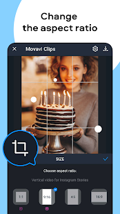Movavi Clips - Video Editor with Slideshows screenshots 6