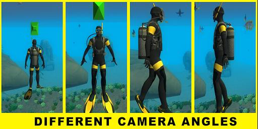Scuba Dive Game - Underwater hunting game Apk 1.11 screenshots 3