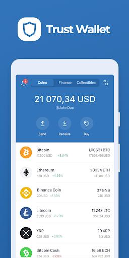 Trust: Crypto & Bitcoin Wallet apktram screenshots 1