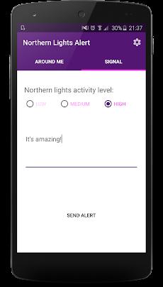 Northern Lights Alertsのおすすめ画像3