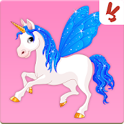 Memory game for kids: Unicorns