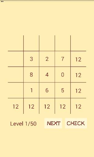 math magic square screenshot 2
