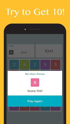 Just Get Ten - Get 10 Number Puzzle Offline Games 3.1.2 screenshots 3