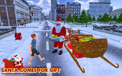 Christmas Santa Rush Gift Delivery- New Game 2020 2.5 screenshots 7