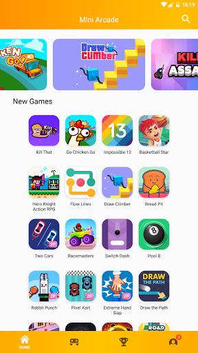 Mini Arcade - Two player games 1.5.2 screenshots 5